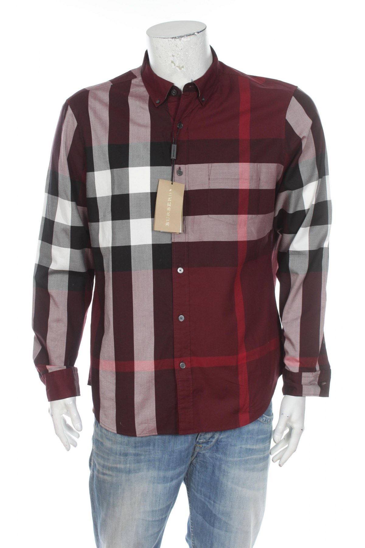 b75bece3d592 Ανδρικό πουκάμισο Burberry - σε συμφέρουσα τιμή στο Remix -  100027127