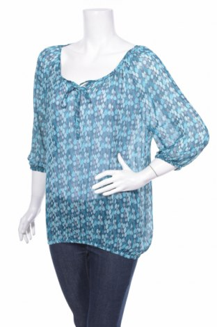 Дамска блуза Anne L., Размер L, Цвят Син, Полиестер, Цена 4,50лв.
