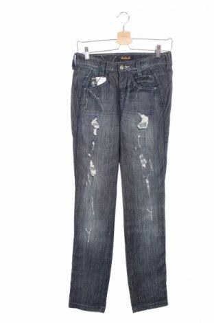 Дамски дънки Killah, Размер S, Цвят Син, 98% памук, 2% еластан, Цена 20,84лв.