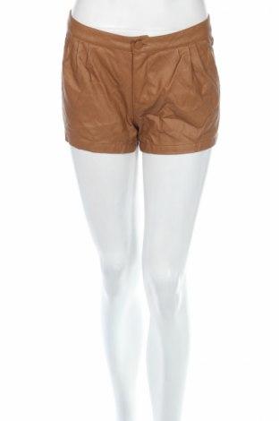 Дамски къс кожен панталон Terranova