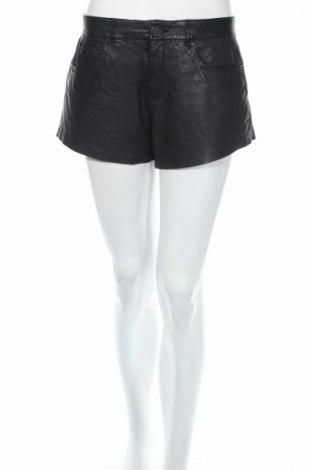 Дамски къс кожен панталон Zara