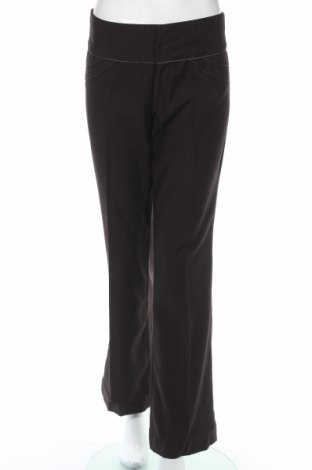 Дамски панталон Kaffe, Размер S, Цвят Кафяв, 65% полиестер, 25% вискоза, 10% вълна, Цена 9,41лв.