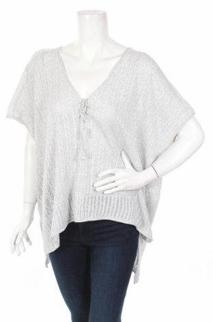 Дамски пуловер H&M L.o.g.g, Размер S, Цвят Сив, Памук, Цена 5,69лв.