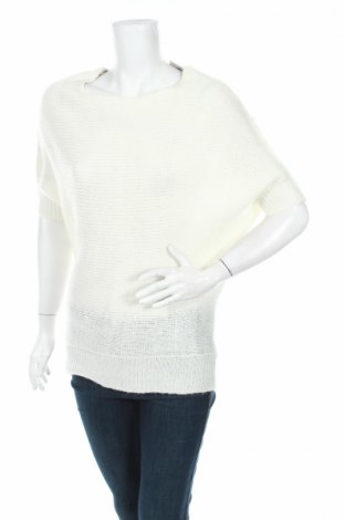 Дамски пуловер Life Time, Размер M, Цвят Бял, 100% акрил, Цена 9,00лв.