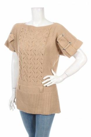Дамски пуловер Patrizia Dini, Размер S, Цвят Кафяв, Цена 6,01лв.