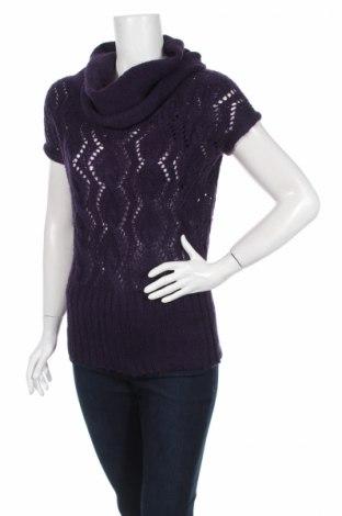 Дамски пуловер Tally Weijl, Размер S, Цвят Лилав, 100% акрил, Цена 6,76лв.