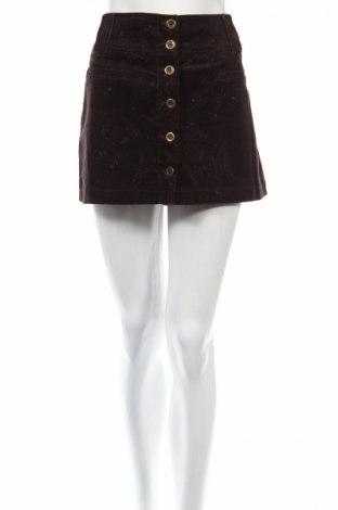 Пола Orsay, Размер M, Цвят Кафяв, 98% памук, 2% еластан, Цена 6,24лв.
