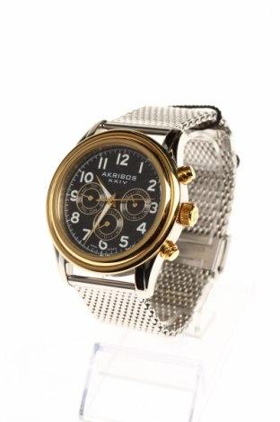 Часовник Akribos XXIV, Цвят Сив, Метал, Цена 214,75лв.
