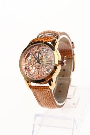 Часовник Akribos XXIV, Цвят Кафяв, Еко кожа, метал, Цена 95,70лв.