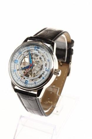 Ρολόι Akribos XXIV, Χρώμα Μαύρο, Δερματίνη, μέταλλο, Τιμή 99,10€