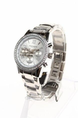Часовник Akribos XXIV, Цвят Сив, Метал, Цена 192,25лв.