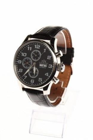 Часовник Hindenberg, Цвят Черен, Естествена кожа, метал, Цена 559,75лв.