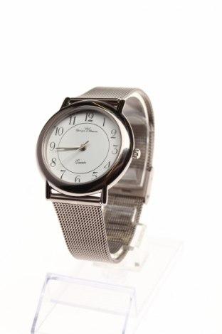 Часовник Yonger & Bresson, Цвят Сив, Метал, Цена 84,75лв.