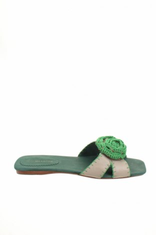 Papuče BCBG Max Azria, Veľkosť 37, Farba Béžová, Pravá koža , Cena  57,06€
