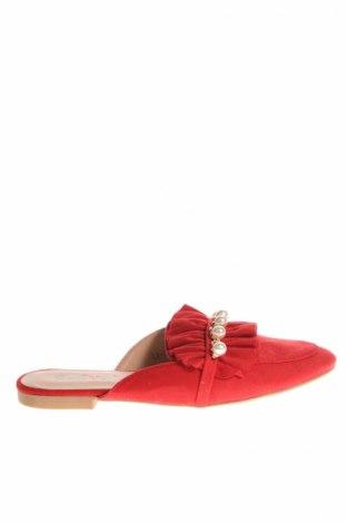 Papuci de casă Lov'it, Mărime 36, Culoare Roșu, Textil, Preț 49,74 Lei