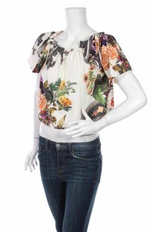 Дамска блуза My Style, Размер M, Цвят Многоцветен, 95% вискоза, 5% еластан, Цена 6,75лв.