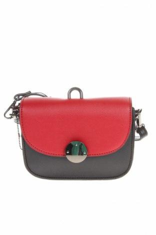 Дамска чанта Manoukian, Цвят Черен, Еко кожа, Цена 48,65лв.