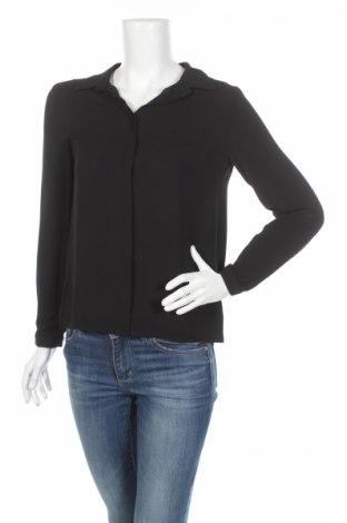 Дамска риза Le Phare De La Baleine, Размер S, Цвят Черен, 97% полиестер, 3% еластан, Цена 11,04лв.