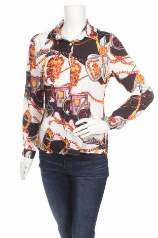 Дамска риза New Laviva, Размер M, Цвят Многоцветен, Полиестер, Цена 11,96лв.