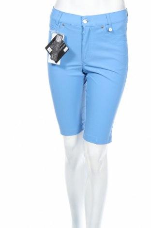 Дамски къс панталон Golfino, Размер XS, Цвят Син, 94% полиамид, 6% еластан, Цена 28,40лв.