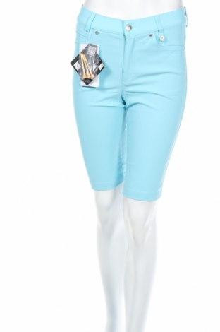 Γυναικείο κοντό παντελόνι Golfino, Μέγεθος XS, Χρώμα Μπλέ, 94% πολυαμίδη, 6% ελαστάνη, Τιμή 13,78€