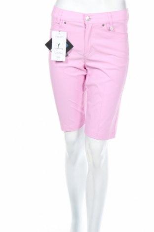 Дамски къс панталон Golfino, Размер XS, Цвят Розов, 94% полиамид, 6% еластан, Цена 36,92лв.