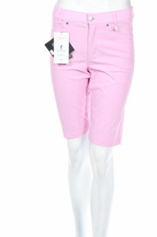 Γυναικείο κοντό παντελόνι Golfino, Μέγεθος XS, Χρώμα Ρόζ , 94% πολυαμίδη, 6% ελαστάνη, Τιμή 13,78€