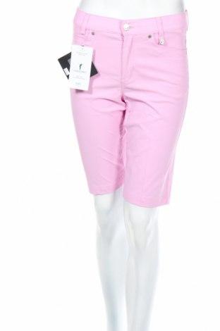 Γυναικείο κοντό παντελόνι Golfino, Μέγεθος M, Χρώμα Ρόζ , 94% πολυαμίδη, 6% ελαστάνη, Τιμή 13,78€