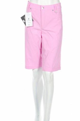 Дамски къс панталон Golfino, Размер XL, Цвят Розов, 94% полиамид, 6% еластан, Цена 28,40лв.