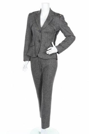 Γυναικείο κοστούμι Apriori, Μέγεθος S, Χρώμα Γκρί, 52% μαλλί, 32% βισκόζη, 10% μετάξι, 4% πολυεστέρας, 2% ελαστάνη, Τιμή 37,67€