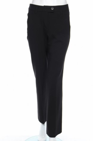 Дамски панталон Anna Montana, Размер S, Цвят Черен, 65% полиестер, 32% вискоза, 3% еластан, Цена 11,75лв.