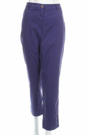 Γυναικείο παντελόνι Burton of London, Μέγεθος XL, Χρώμα Βιολετί, 96% βαμβάκι, 4% ελαστάνη, Τιμή 11,47€