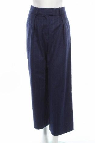 Dámské kalhoty  Cacharel, Rozměr S, Barva Modrá, 63% vlna, 37% polyamide, Cena  4809,00Kč