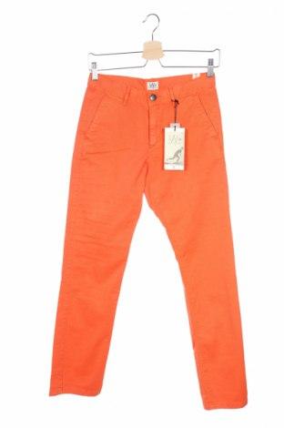 Детски панталон Ikks, Размер 15-18y/ 170-176 см, Цвят Оранжев, 98% памук, 2% еластан, Цена 16,35лв.