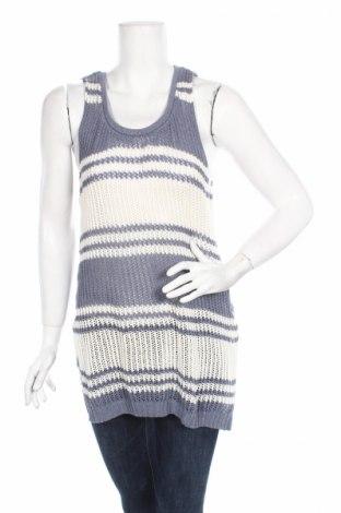 Γυναικείο πουλόβερ Pull&Bear, Μέγεθος M, Χρώμα Μπλέ, 53% βαμβάκι, 44%ακρυλικό, 3% άλλα υφάσματα, Τιμή 6,46€