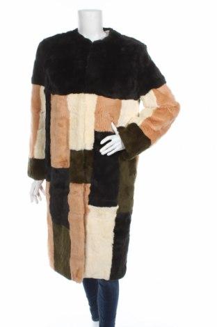 Palton din piele pentru damă Cacharel