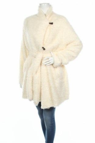 Дамско палто Indies, Размер XL, Цвят Екрю, Полиестер, Цена 194,37лв.