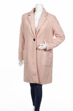 Γυναικείο παλτό Only, Μέγεθος L, Χρώμα Ρόζ , 53% βαμβάκι, 47% πολυεστέρας, Τιμή 21,44€