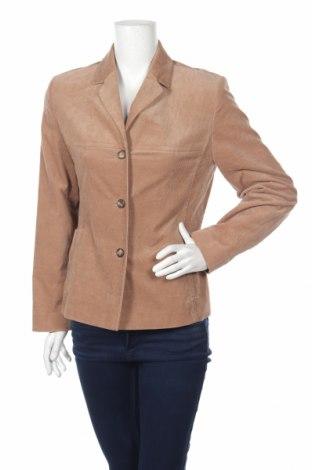 Дамско сако Bianca, Размер M, Цвят Бежов, 98% памук, 2% еластан, Цена 12,22лв.