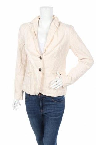 Дамско сако Esprit, Размер M, Цвят Бежов, 55% памук, 45% лен, Цена 5,97лв.