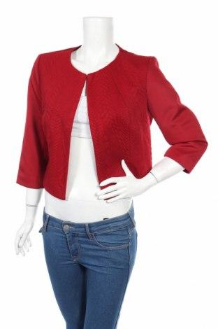 Дамско сако Jus D'orange, Размер XL, Цвят Червен, 96% полиестер, 4% еластан, Цена 31,05лв.