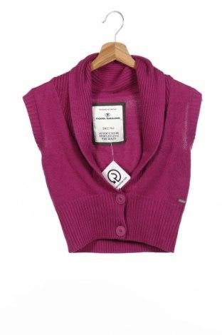 Детска жилетка Tom Tailor, Размер 13-14y/ 164-168 см, Цвят Лилав, 60% памук, 40% полиакрил, Цена 9,00лв.