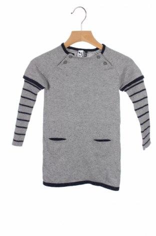 Detské šaty  3 Pommes, Veľkosť 18-24m/ 86-98 cm, Farba Sivá, 99% bavlna, 1% vlákna , Cena  26,80€