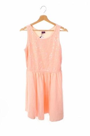 Dětské šaty  Buffalo, Rozměr 14-15y/ 168-170 cm, Barva Růžová, 95% bavlna, 5% elastan, Cena  278,00Kč