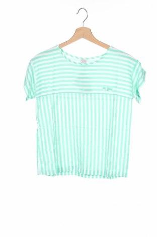 Детска блуза Karl Marc John, Размер 11-12y/ 152-158 см, Цвят Зелен, Вискоза, Цена 9,60лв.