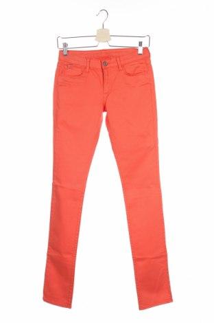 Детски дънки Le Temps Des Cerises, Размер 13-14y/ 164-168 см, Цвят Оранжев, 98% памук, 2% еластан, Цена 5,52лв.