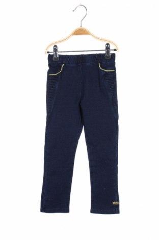 Детски дънки Sucre d'Orde, Размер 4-5y/ 110-116 см, Цвят Син, 95% памук, 5% еластан, Цена 9,66лв.