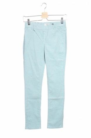 Pantaloni de copii Cyrillus, Mărime 11-12y/ 152-158 cm, Culoare Albastru, 98% bumbac, 2% elastan, Preț 33,16 Lei
