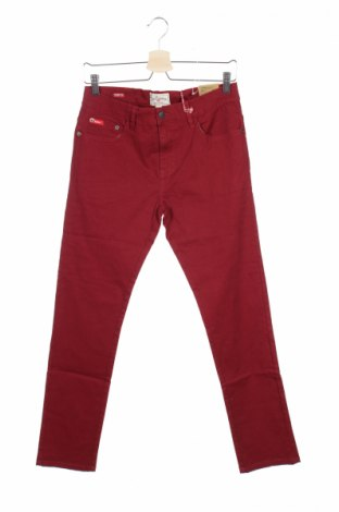 Detské nohavice  Lee Cooper, Veľkosť 15-18y/ 170-176 cm, Farba Červená, 98% bavlna, 2% elastan, Cena  5,22€