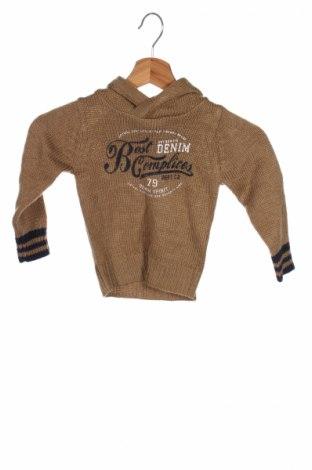 Детски пуловер Complices, Размер 2-3m/ 56-62 см, Цвят Кафяв, Акрил, Цена 17,48лв.